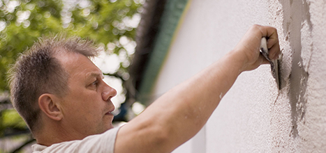 Stucco Repair | Dave Johnson Construction  : West Jordan, UT